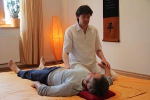 Shiatsu und Qi Gong Kontakt-Training: Das Wesentliche berühren