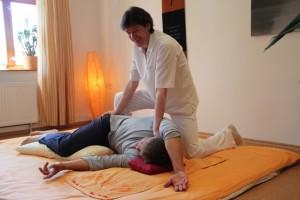 Shiatsu und Qi Gong – Der Rücken