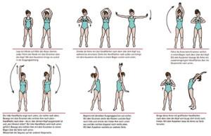 Schaubild Do-In Körperübungen zu beziehen im ShenDo Verlag